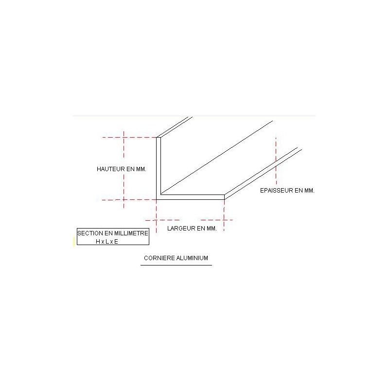corniere aluminium. Black Bedroom Furniture Sets. Home Design Ideas
