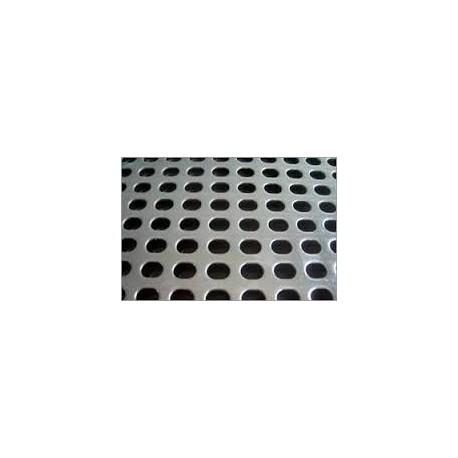 TOLE PERFOREE R5T8 1500X3000 EP 1.5 MM ACIER GALVANISE