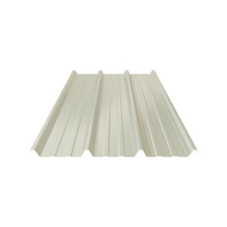 TOLE TOITURE BLANC RAL 9010 PML 45.333.1000 CS EP. 75/100