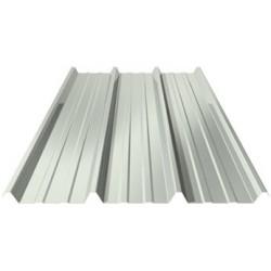 Tole toiture gris alu ral 9006 pml cs ep 63 for Tole en zinc pour toiture