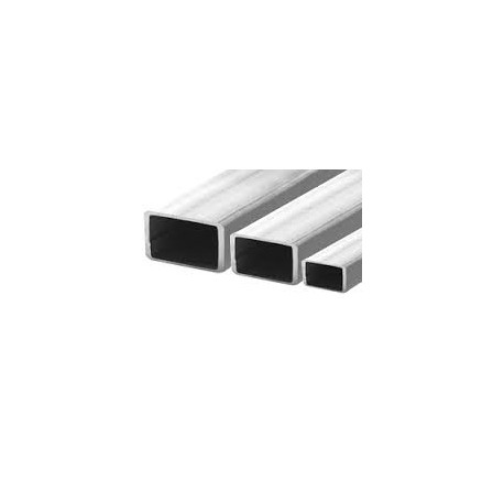 TUBE INOX RECTANGLE 40 X 20 X 2 QUALITE DECO 304L