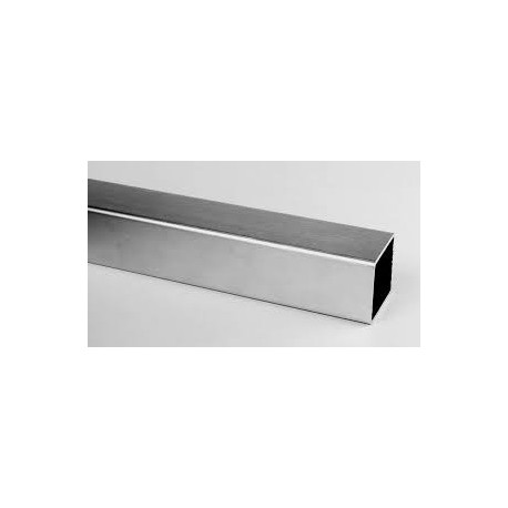 TUBE INOX CARRE 50 x 50 X 2 QUALITE DECO 304L