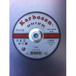 DISQUE A EBARBER ACIER/INOX DIA. 230X6,4 AA24P