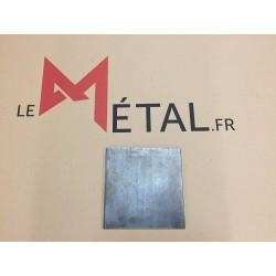 Platine acier 80x80 sans percage