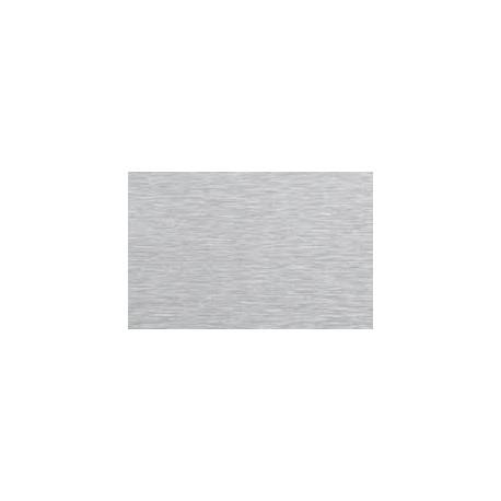 TOLE INOX GRAIN 220 EP.1 MM QUALITE 304L + PVC 1 FACE