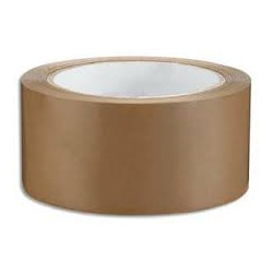 RUBAN PVC HAVANE (rouleau de 100 M)